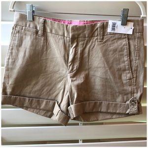 Khaki shorts Size 4